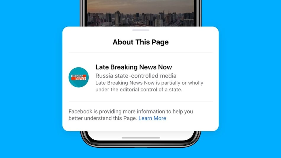 Facebook Starts Labelling State-Controlled Media Posts, Will Block Ads