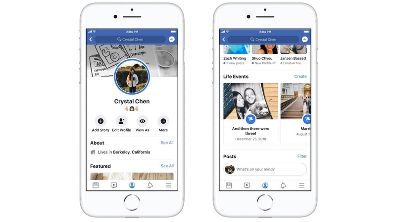 Facebook 'Life Events' Feature Redesigned, Rolling Out to