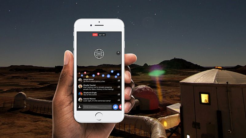 Facebook Live 360 Videos Launched; to Be Available for All Pages and Profiles in 2017
