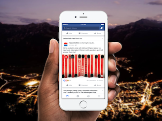 Facebook Live Audio Feature in Testing
