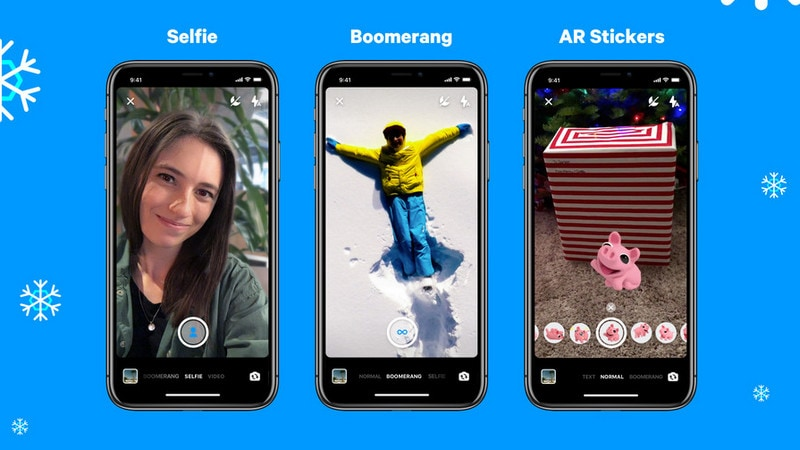 Facebook Messenger Update Brings AR, Selfie And Boomerang Mode Support
