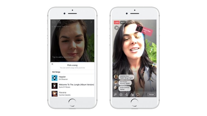 Facebook's Lip Sync Live Is a Competitor to Musical.ly