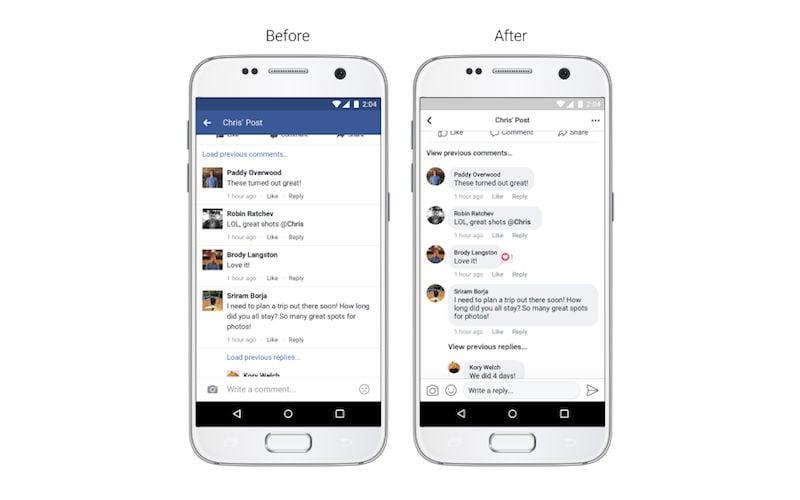 Facebook News Feed का बदला रंगरूप, कैमरे में आए नए फ़ीचर