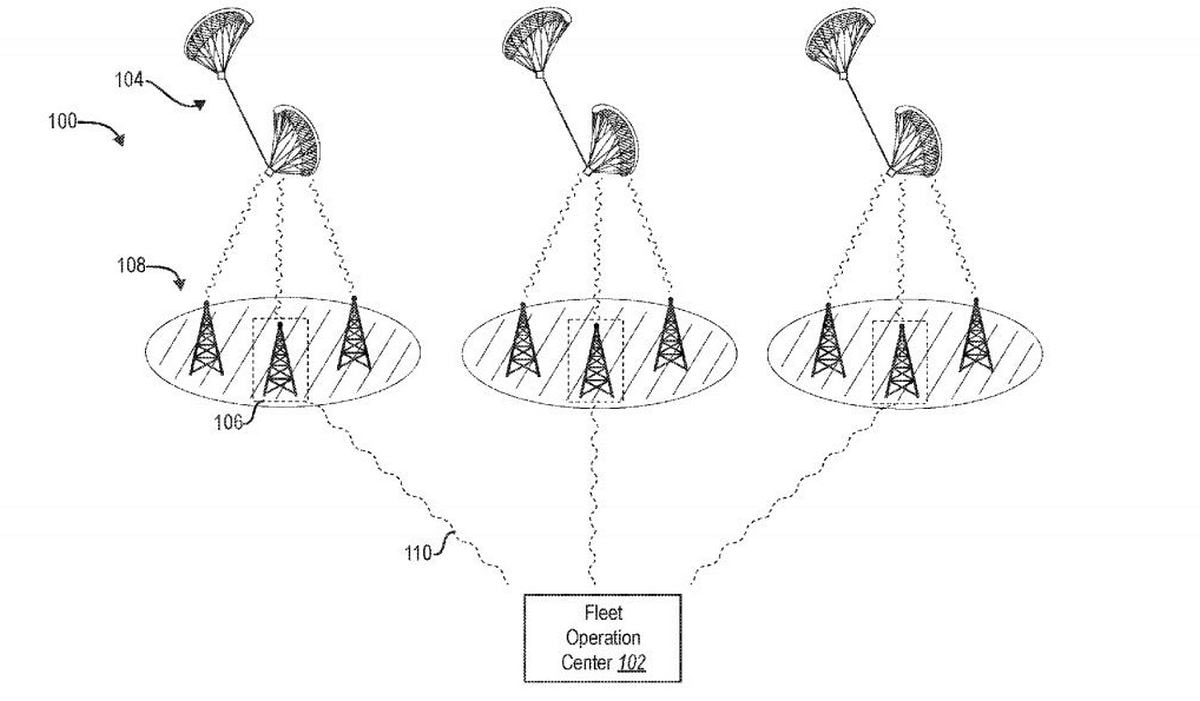 Facebook Files Patent for Unusual Kite-Powered Drone