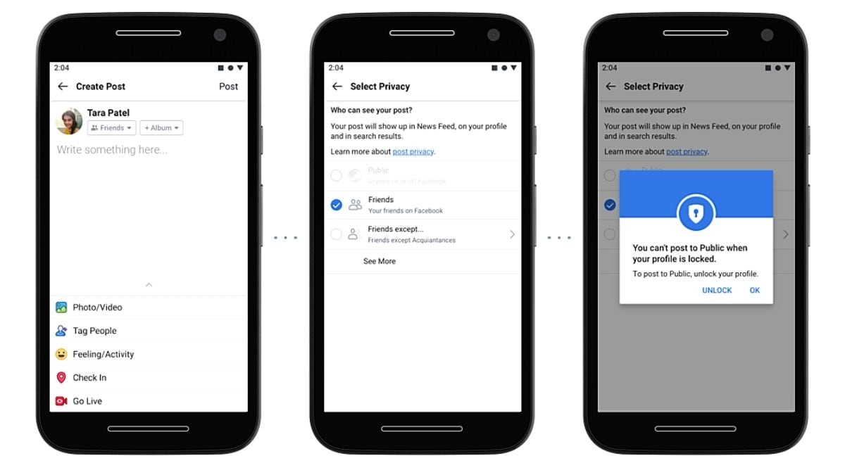 Facebook Launches 'Lock Profile' Feature in India for Better ...