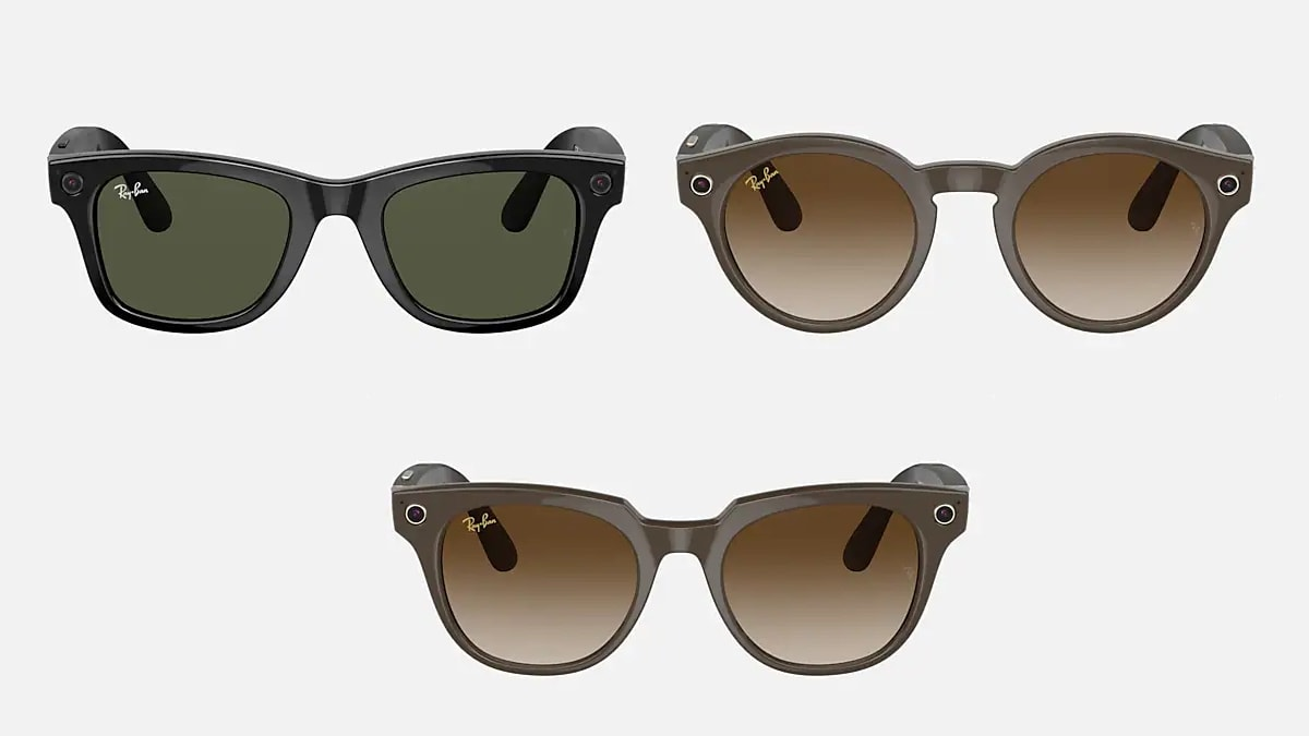 Facebook's Ray-Ban Stories 'Smart' Glasses With 5-Megapixel Dual Cameras,  Open-Ear Speakers Launched | Technology News