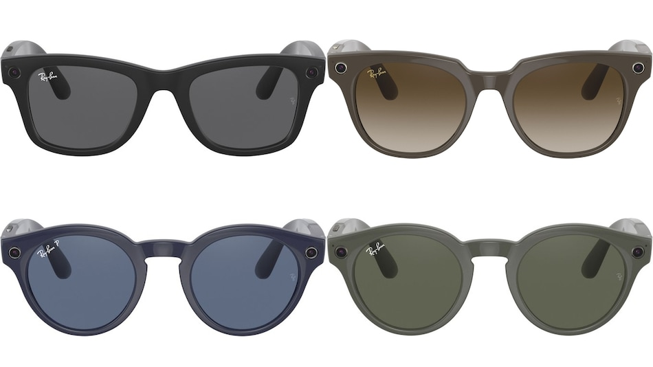 Facebook, Ray-Ban Smart Glasses' Official-Looking Renders Surface Online Ahead of Launch