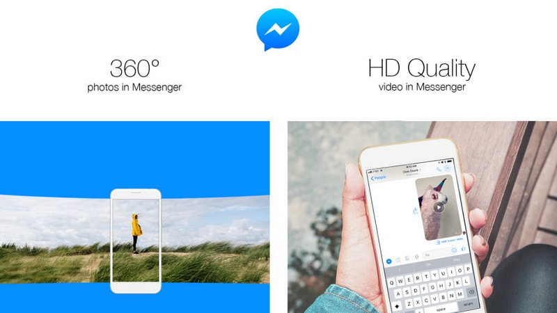 Facebook Messenger Can Now Be Used to Send 360-Degree Photos, HD Videos