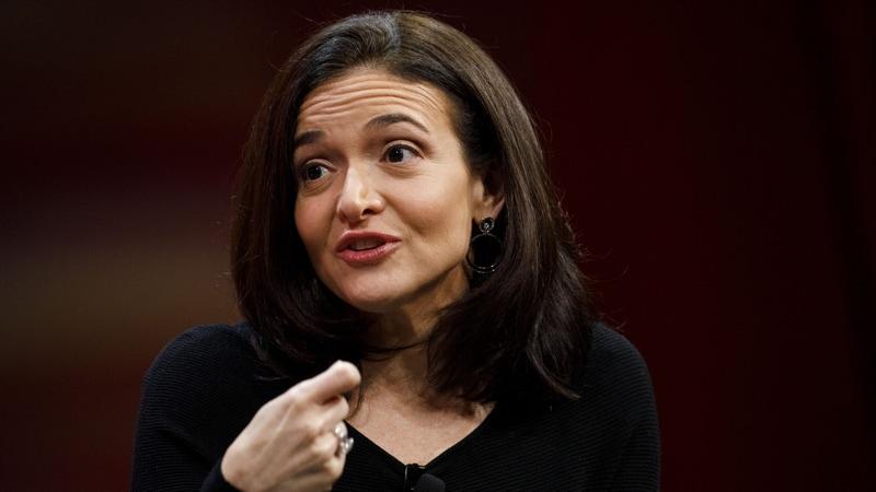 Facebook's Sandberg Says 'a Few' Advertisers Paused Spending