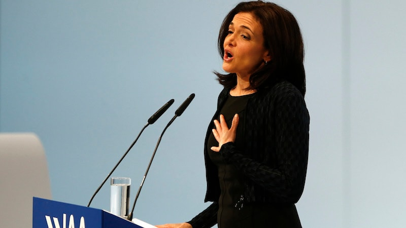 Facebook Says COO Sheryl Sandberg Asked for Info on Soros