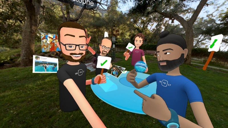 facebook spaces f8 2017 Facebook Spaces F8 2017