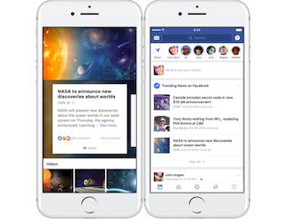 Facebook Trending Topics Tweaked to Show More News Sources