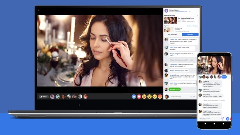 Facebook Rolls Out Watch Party Feature, Letting People Watch Videos Together