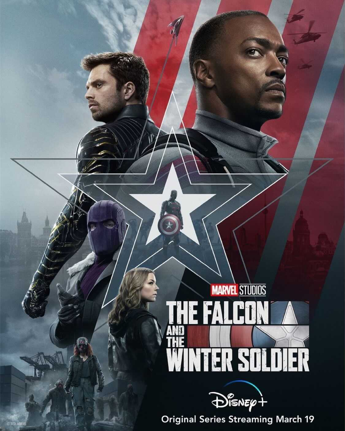 falcon winter soldier poster