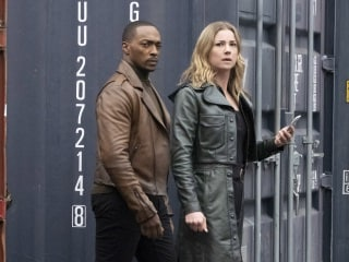 The Falcon and the Winter Soldier's Emily VanCamp Tells Us What's Up With the New Angry Sharon Carter