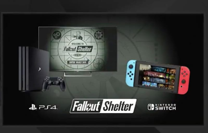 Fallout Shelter for Nintendo Switch and PS4 Confirmed at E3 2018