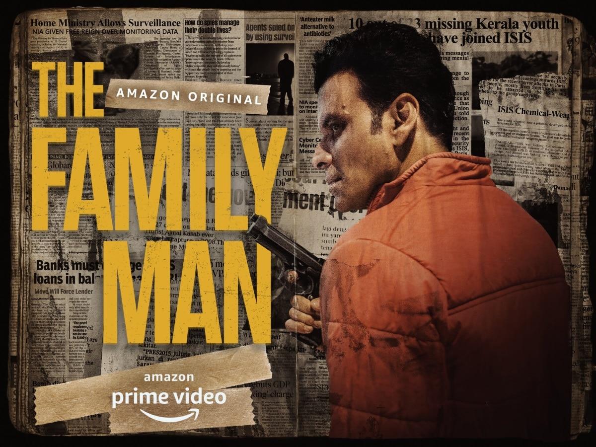 family man poster full Family Man Amazon Prime Video India