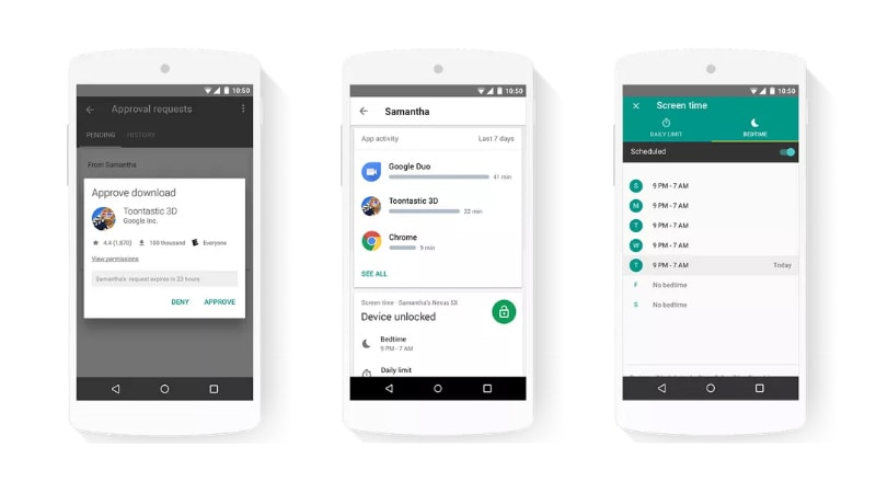 Google Family Link Gives Parents Control Over Children's Android Device Usage