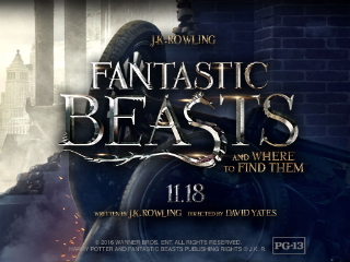 With Fantastic Beasts and Where to Find Them, Harry Potter Magic Comes to Amazon.com