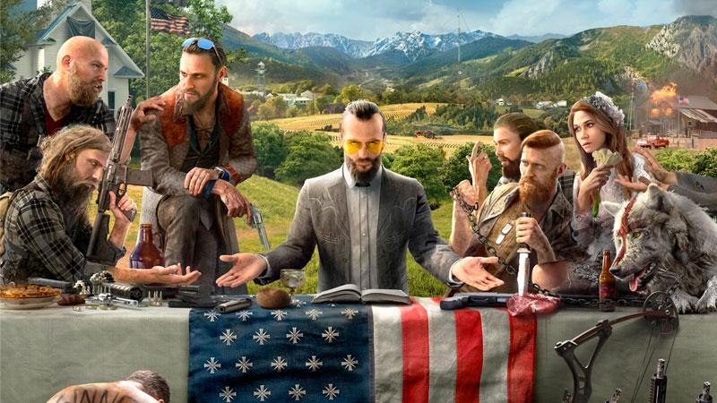 Far Cry 5 E3 2017 Gameplay Trailer Has Dogs Collecting Guns for You