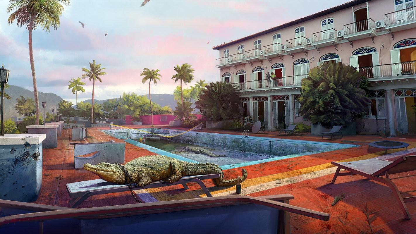 far cry 6 alligator artwork far cry 6