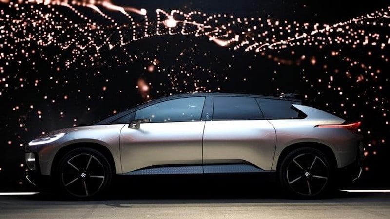 CES 2017: Faraday Future Unveils 1050-Horsepower FF 91 Electric Vehicle