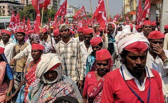 farmers in mumbai