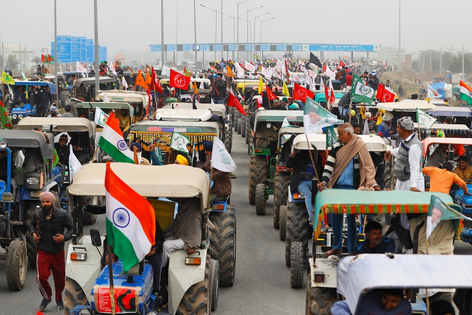 Twitter Suspends Over 550 Accounts After Violence During Farmers' Republic Day Tractor Rally