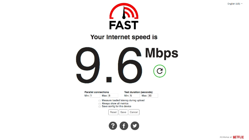 Netflix's Fast.com Now Shows Upload Speeds and Connection Latency, Removes 'Compare With Speedtest' Option