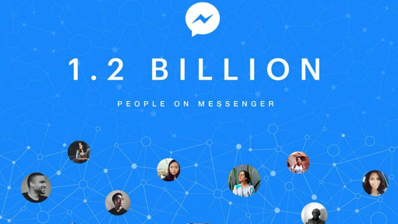 Facebook Messenger Now Has 1.2 Billion Monthly Active Users, Same as WhatsApp