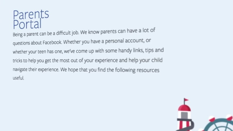Facebook Launches Parent's Portal to Help Parents Keep Kids Safe Online