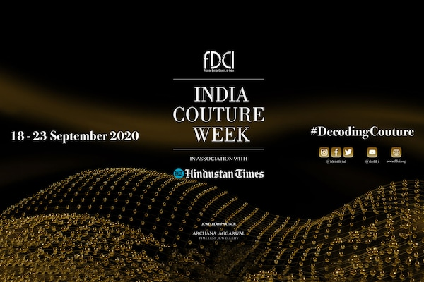 India Couture Week 2020: Countdown For The Digital Fashion Show Begins