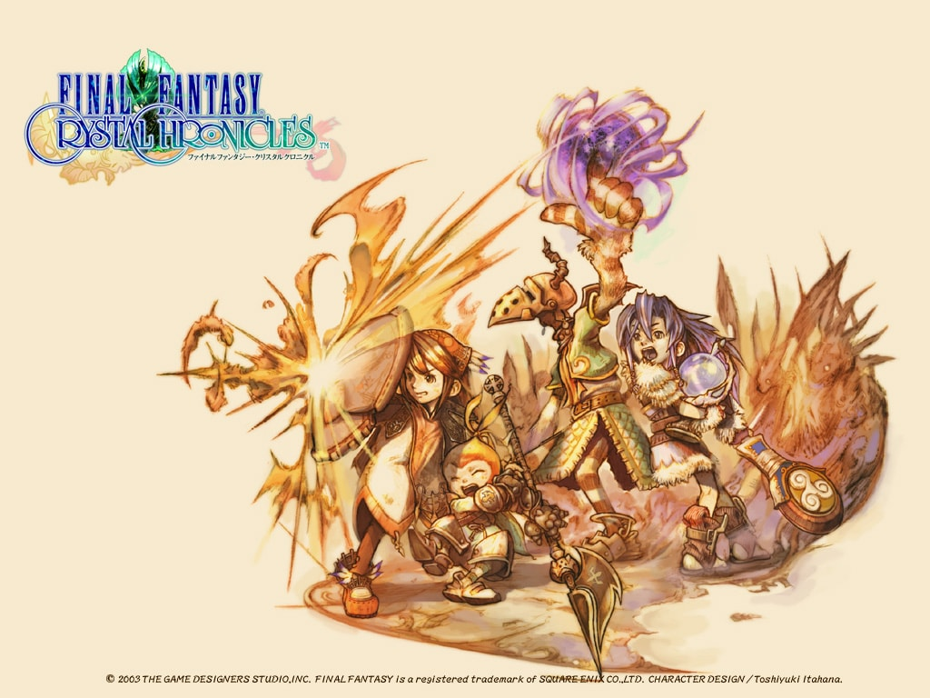Final Fantasy Crystal Chronicles Remaster Coming To Nintendo Switch, PS4