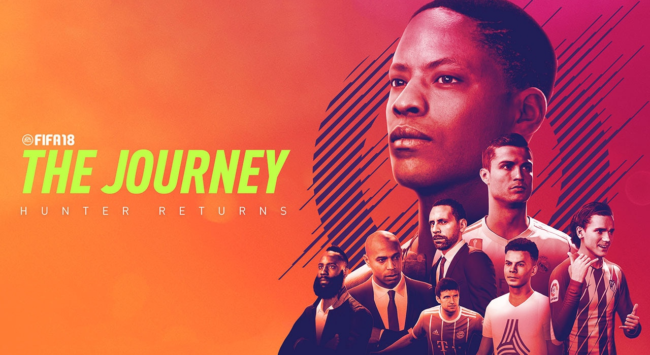 FIFA 18s The Journey Hunter Returns Easily Clears Low Bar Set For Itself