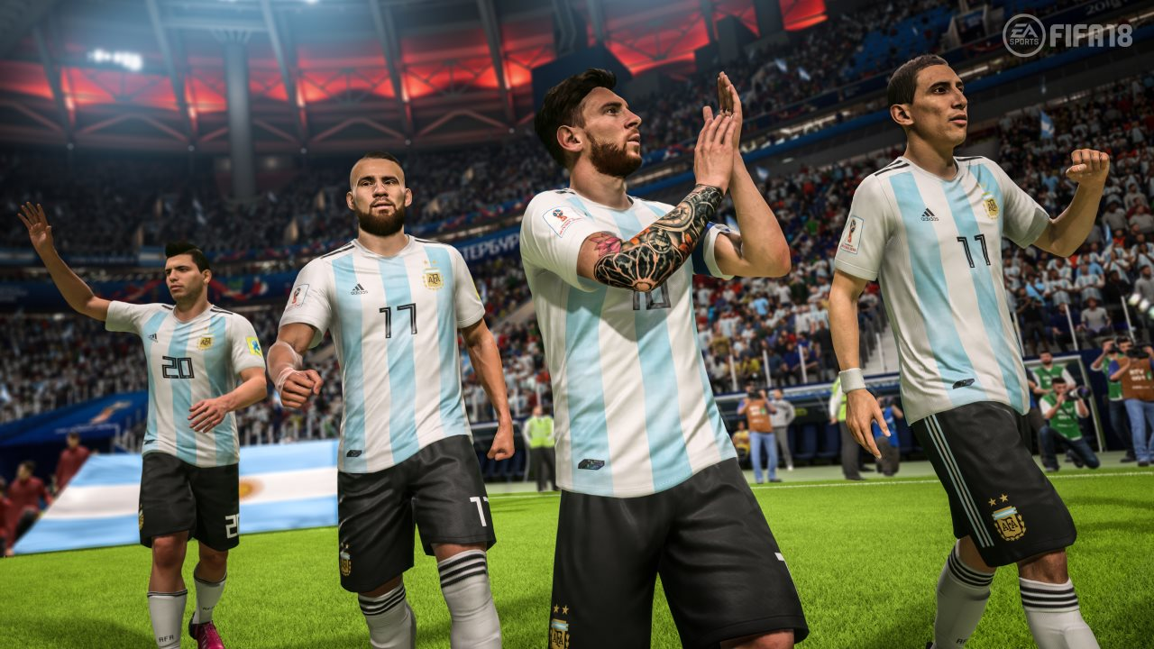 fifa 18 world cup argentina FIFA 18 World Cup