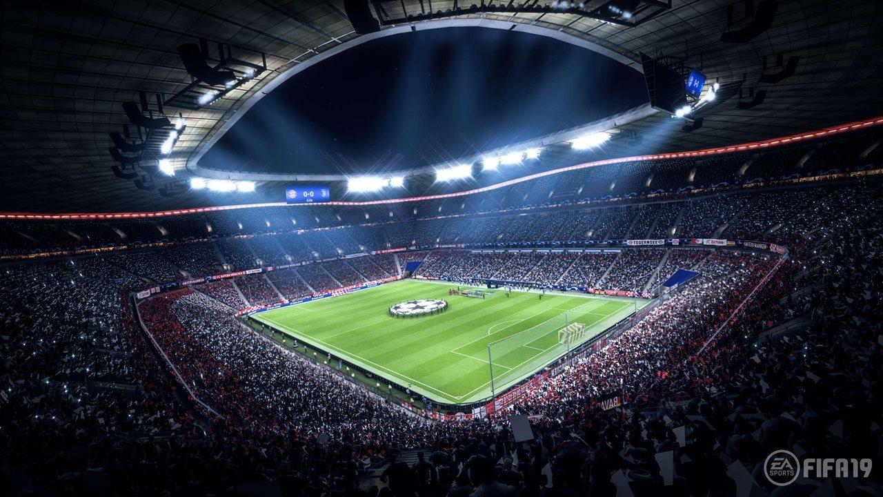 fifa 19 allianz arena FIFA 19 Allianz Arena