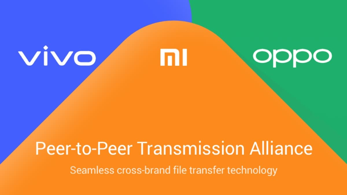 Oppo, Vivo, Xiaomi Reveal Availability Details of Cross-Brand P2P Wireless File Transfer Feature