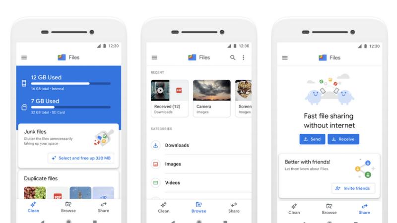 Google के Files Go ऐप का नाम बदला, हर महीने 3 करोड़ से ज़्यादा एक्टिव यूजर हैं इस ऐप के