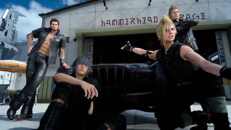 final fantasy XV Boy band