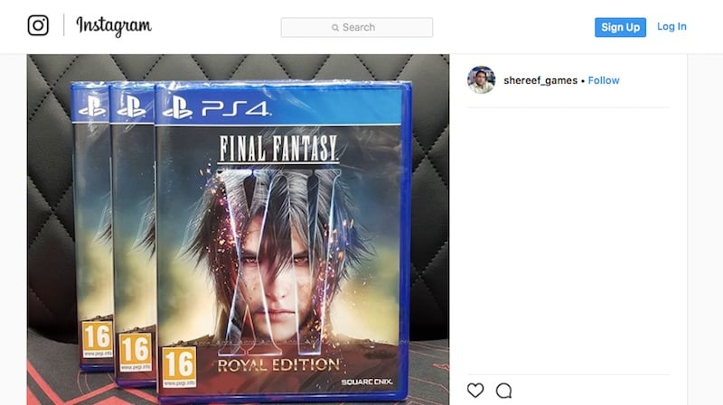 Final Fantasy XV Windows Edition is available now