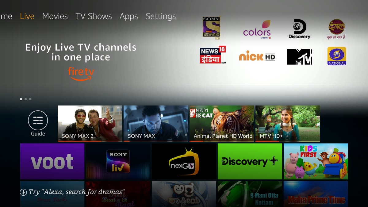 Amazon Fire Tv Introduces Live Tv Streaming In India Technology News