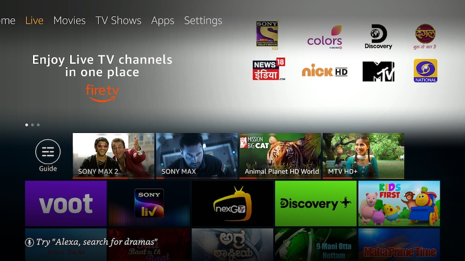 Amazon Fire TV Introduces Live TV Streaming in India