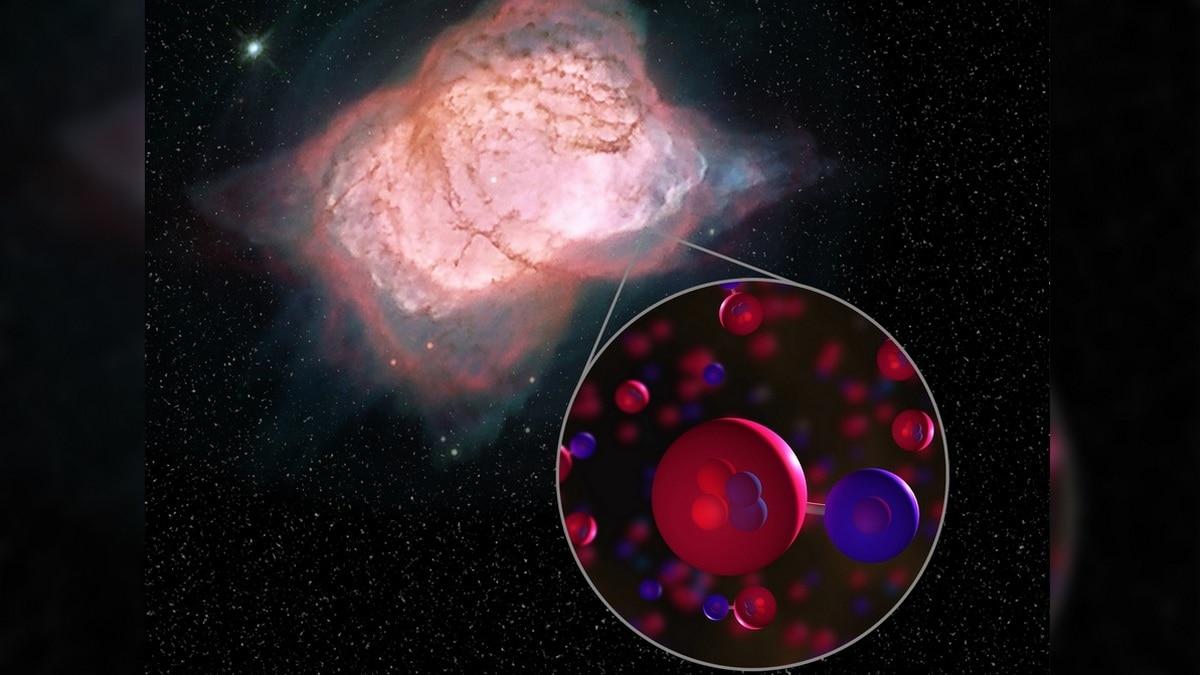 NASA Telescope Spots Universe's First Molecule - Helium Hydride