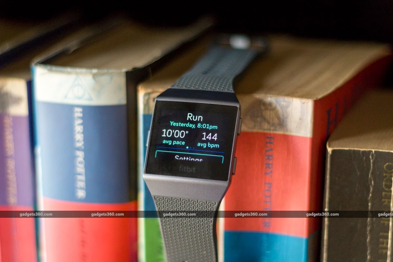 fitbit ionic review run Fitbit Ionic