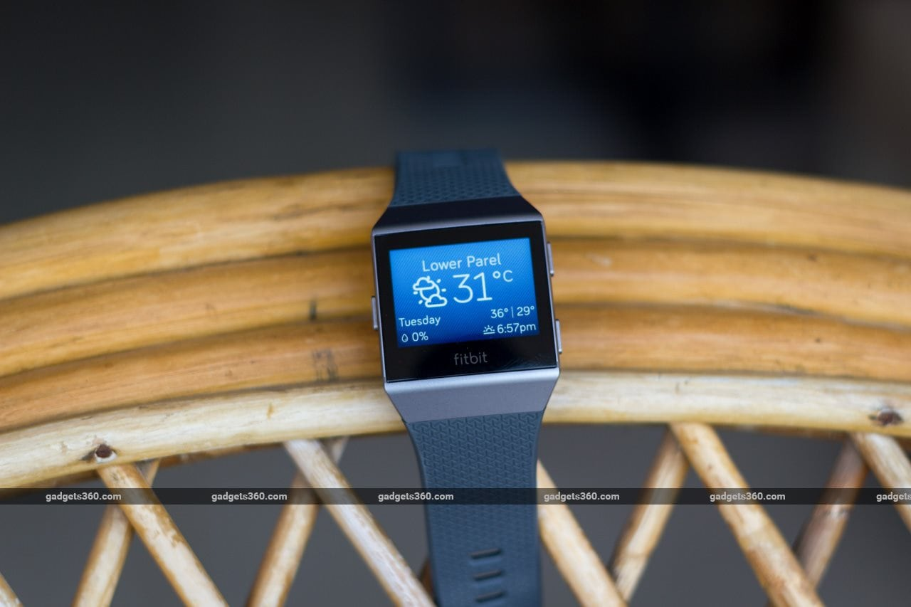 fitbit ionic review weather Fitbit Ionic