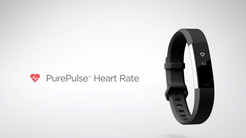 Fitbit Alta HR, 'World's Slimmest Fitness Wristband With Heart Rate