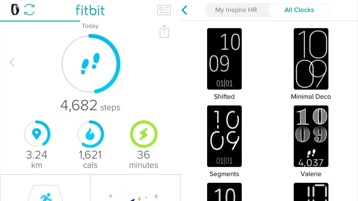 fitbit app screenshots Fitbit