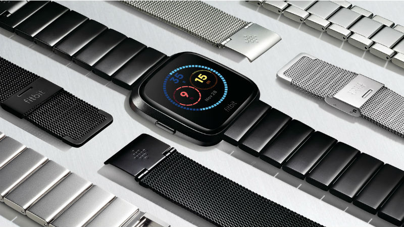Fitbit Versa Smartwatch With Female Health Tracking 4 Day Battery Life Launched Price in India Specifications