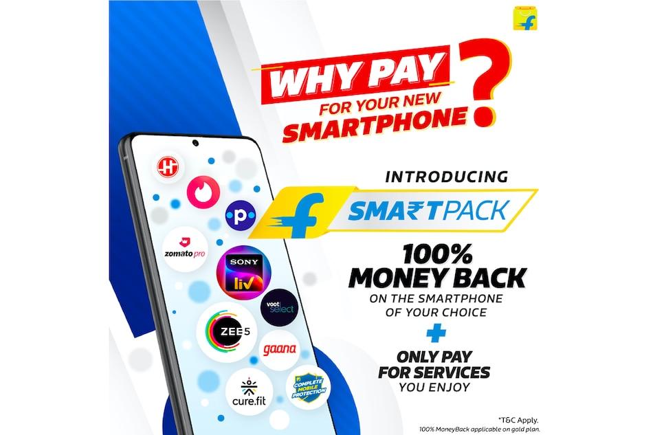 Flipkart SmartPack Offers 100% Moneyback on Top Smartphones in India
