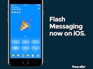 Truecaller Is Now Rolling Out Flash Messaging to iPhone Users